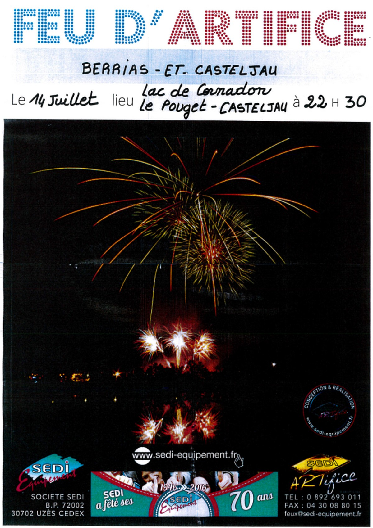 FEUX D ARTIFICES 2019